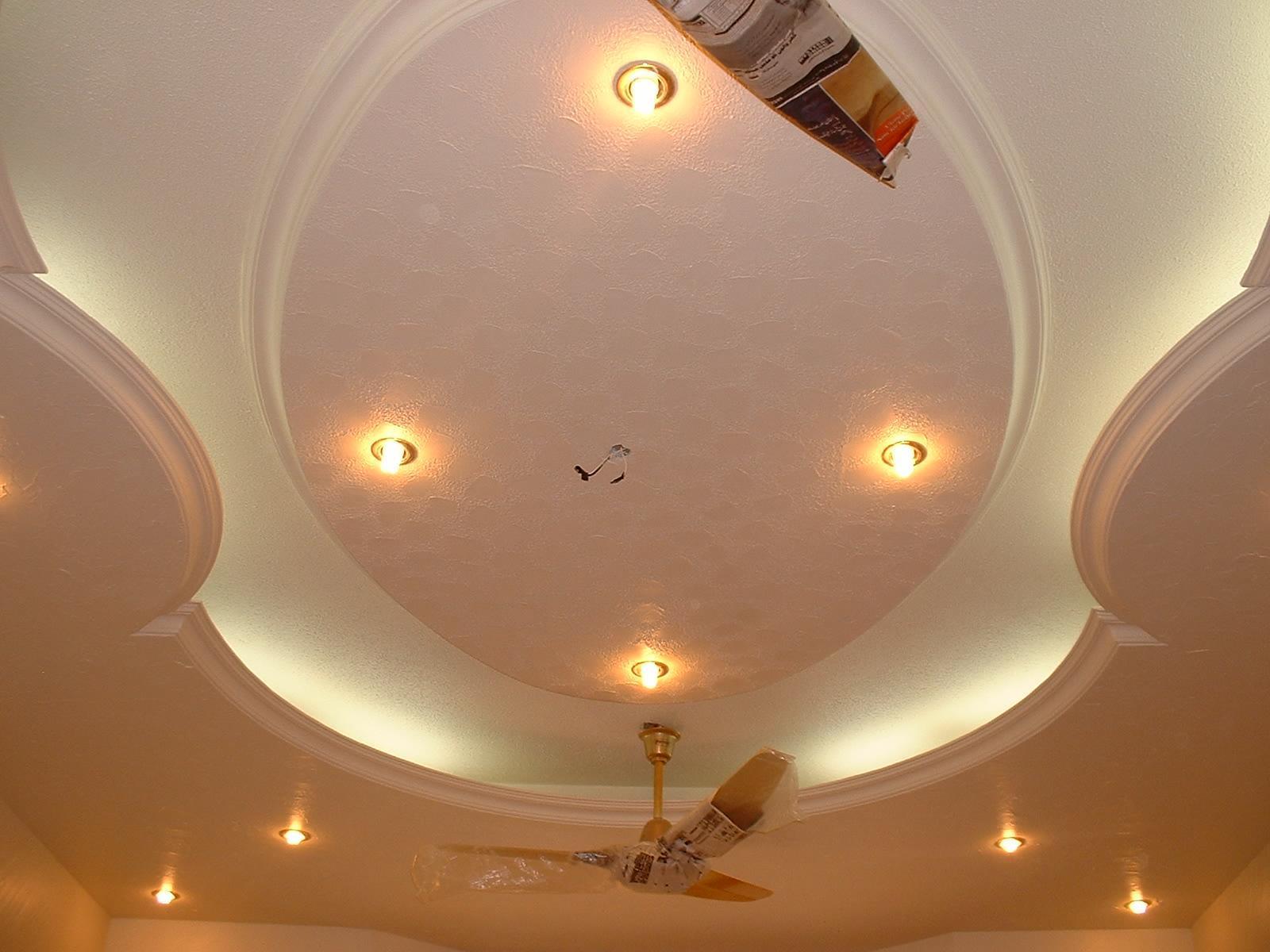 Потолочный дизайн из гипсокартона
